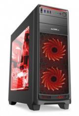1stCOOL Middle Tower GAMER 1, ATX black černý, bez zdroje, fulltower ATX , ML-GAMER1-AU-USB3