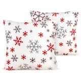 4Home Povlak na polštářek Snowflakes