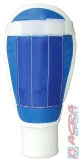 ACRA Fotbalové chrániče textilní holenní 3 velikosti