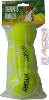ACRA Míčky tenisové set 3 ks