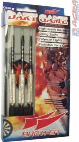 ACRA Šipky Scorpius kovové hroty set 3ks 24g BROTHER