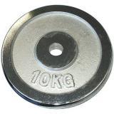 Acra Závaží chromové 10 kg / tyč 25 mm