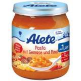 Alete BIO Příkrm těstoviny   zelenina   hovězí 12m  250 g