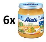 Alete Bio Špagety S Krůtím Masem A Zeleninou- 6X250G