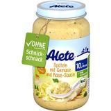 ALETE BIO Špecle se zeleninou a sýrovou omáčkou 6× 220 g