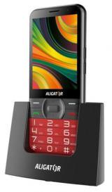 Aligator A900 Senior, červený   stolní nabíječka - zánovní