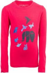 ALPINE PRO dívčí tričko Milto 116 - 122 růžová
