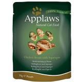 Applaws kapsička Cat kuřecí prsa a chřest 70 g