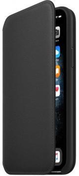 Apple Iphone 11 Pro Kožený Folio, Černý mx062zm/A
