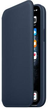 Apple iPhone 11 Pro Leather Folio - Deep Sea Blue MY1L2ZM/A