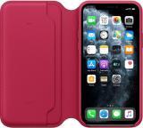Apple iPhone 11 Pro Leather Folio - Raspberry MY1K2ZM/A