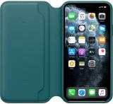 Apple iPhone 11 Pro Max Leather Folio - Peacock MY1Q2ZM/A