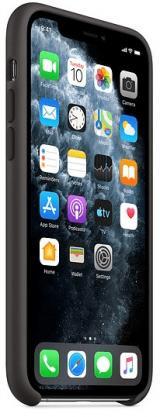 Apple iPhone 11 Pro silikonový kryt, černý MWYN2ZM/A - zánovní