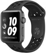 Apple Watch Series 3 Nike  GPS, 38mm Space Grey Aluminium Case with Anthracite/Black Nike Sport Band