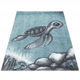 Ayyildiz koberce Kusový koberec Bambi 860 blue - 160x230 cm Modrá