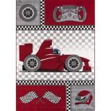 Ayyildiz koberce Kusový koberec Kids 460 red,   80x150 cm Červená - Vrácení do 1 roku ZDARMA