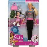 Barbie Sportovní set Tmavé oblečení