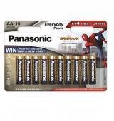 Baterie alkalická Panasonic Everyday Power AA, 6 4 ks,