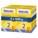 BEBIVITA 2 Pokračovací kojenecká výživa 6m   4× 500 g