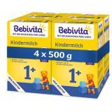 BEBIVITA JUNIOR 1  Instantní pokračovací kojenecká výživa 4× 500 g