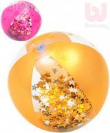 BESTWAY Baby míč nafukovací 41cm balon se třpytkami 2 barvy