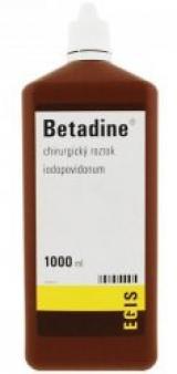 Betadine chirurgická tekutina 1000ml