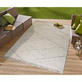 Béžový koberec vhodný i na ven Floorita Les Gipsy Cream, 194 x 290 cm
