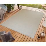 Béžový koberec vhodný i na ven Floorita Pallino Ecru, 130 x 190 cm
