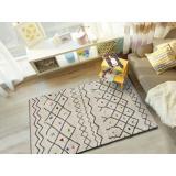 Bílý koberec vhodný i na ven Universal Kasbah Puro, 80 x 150 cm