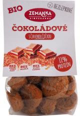 Biopekárna Zemanka  Bezlepkové čočkové bio hrudky s kokosem a čokoládou