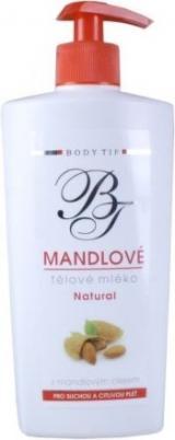 Body Tip Mandlové tělové mléko pro such.pok. 400ml