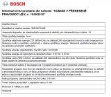 Bosch SMV88TX46E - použité