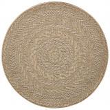 Bougari - Hanse Home koberce Kusový koberec Forest 103998 Beige/Brown - 160x160 kruh cm Hnědá