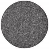 Bougari - Hanse Home koberce Kusový koberec Forest 103999 Darkgrey - 160x160 kruh cm Šedá