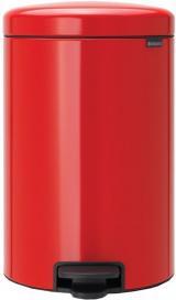 Brabantia Pedálový Koš Newicon 20 L Červená