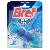 BREF Blue Aktiv Eucalyptus tuhý WC blok 50 g