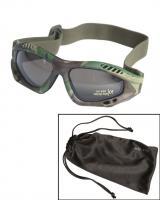 Brýle Commando Air kouřové - woodland