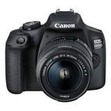 Canon EOS 2000D   18-55 IS II   50 f/1.8 STM  černý   Doprava zdarma
