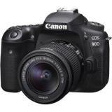 Canon EOS 90D   18-55 IS STM černý Paměťová karta Sandisk Micro SDXC Extreme 64GB, A2, UHS-I U3    Doprava zdarma