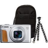 Canon PowerShot SX740 HS stříbrný Travel kit