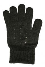 CAPU Dámské rukavice 55304-E Dark Grey