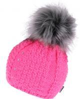 CAPU Zimní čepice 381-E Rose