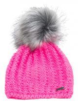 CAPU Zimní čepice 384-G Pink
