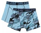 Cars Jeans Sada pánských boxerek Boxer 2Pack Beatle Grey Blue 4357971 M