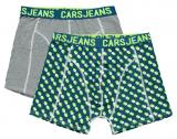 Cars Jeans Sada pánských boxerek Boxer 2Pack Beatle Grey Melee 4357953 M