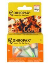 Chránič sluchu Ohropax Color 8ks,Chránič sluchu Ohropax Color 8ks