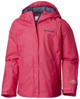 Columbia Dívčí nepromokavá bunda Arcadia 104 růžová