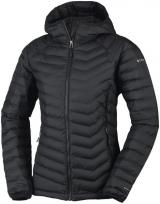 Columbia Powder Lite Hooded Jacket Black S