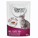 Concept for Life All Cats 10  - v želé - 12 x 85 g