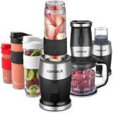 Concept SM3390 Fresh&Nutri multifunkční mixér, 700 W   láhve 2 x 570 ml   400 ml, černá